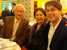 Ernst Mahle, Cidinha Mahle, and Victor in a New York restaurant after a concert at Steinway Hall, New York, NY